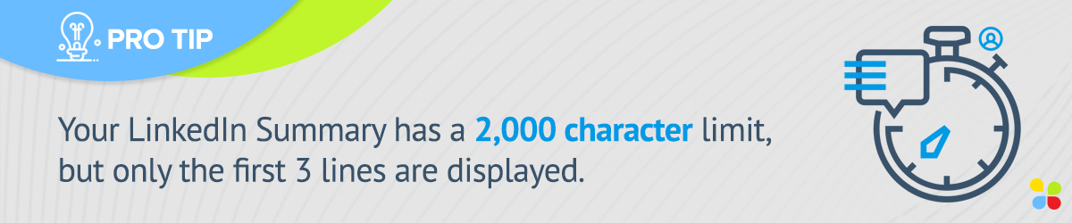 LinkedIn headline character limit is 2,000 characters
