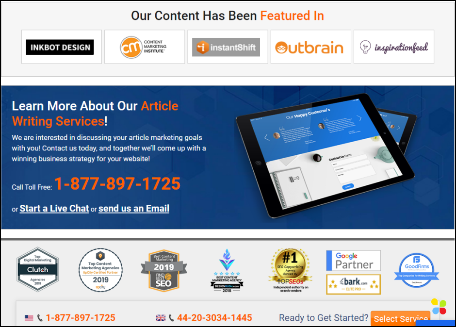 example highlights how you can drive conversions through content